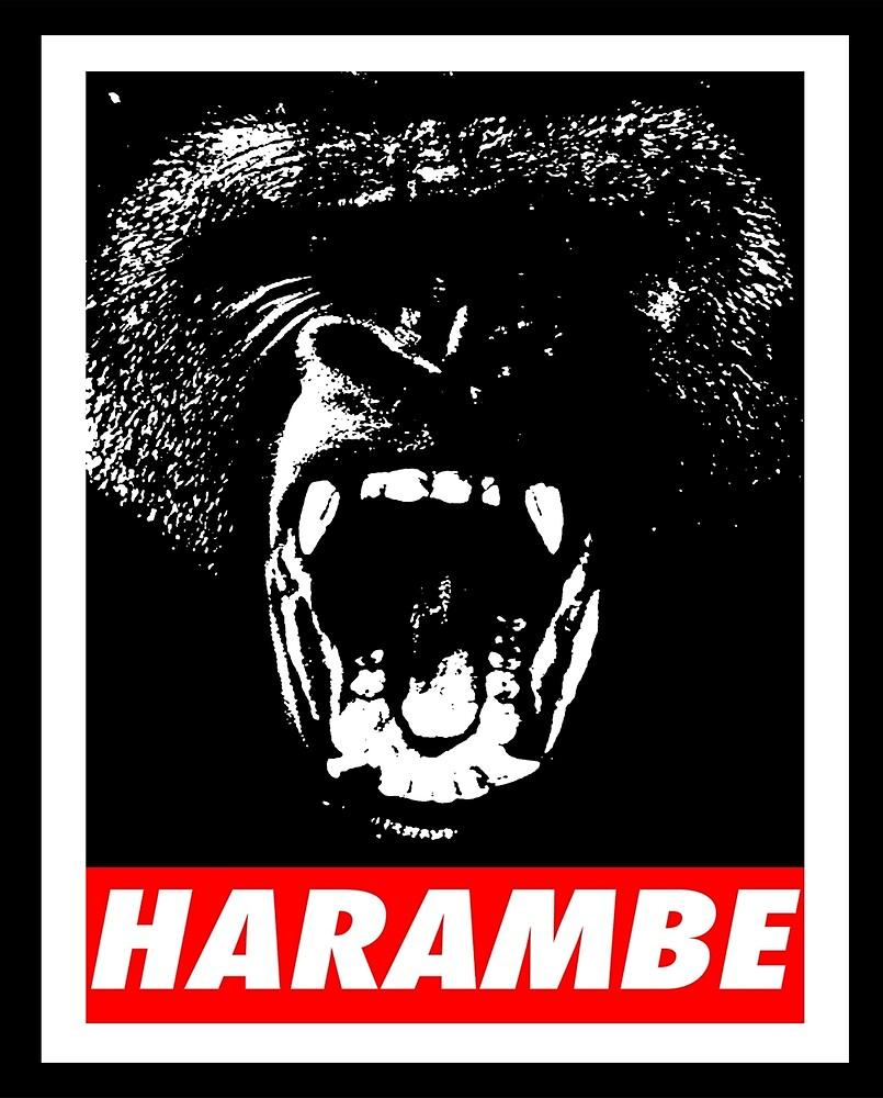 HARAMBE  by HarambeShirt