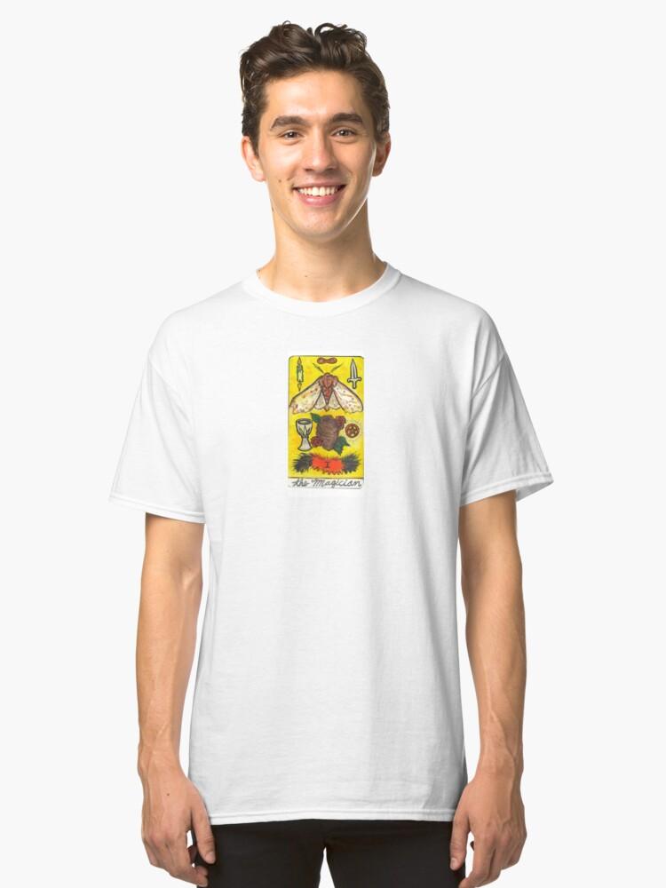 Arthropod Tarot - Card 1, The Magician Classic T-Shirt Front