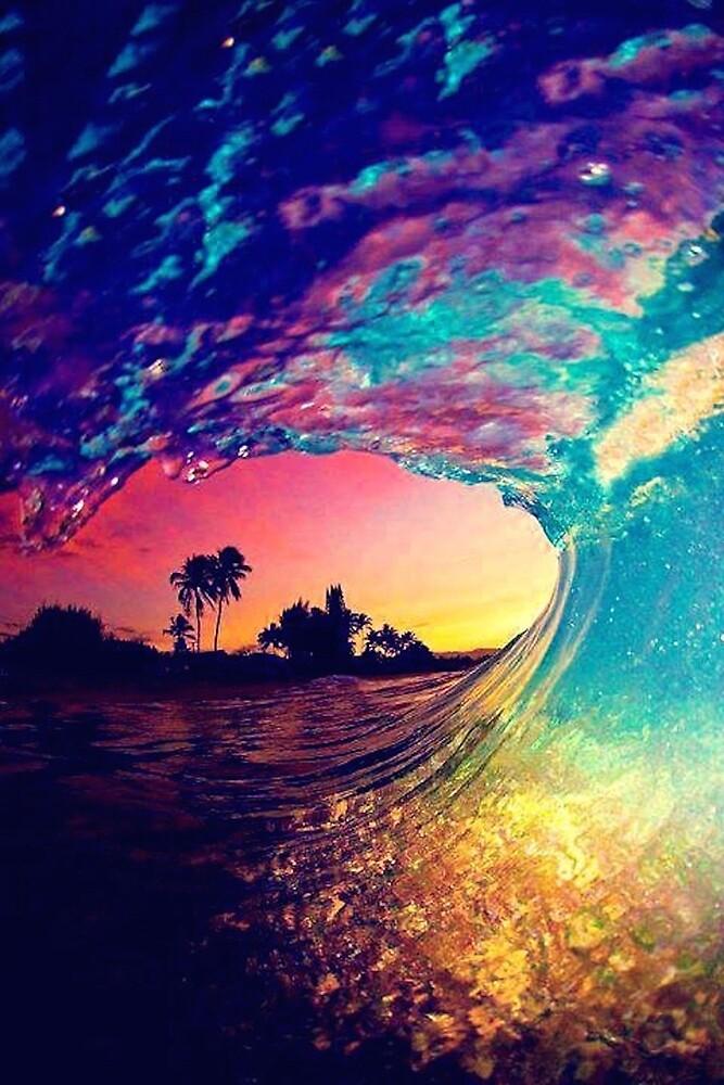 Rainbow waves by Emma  N.