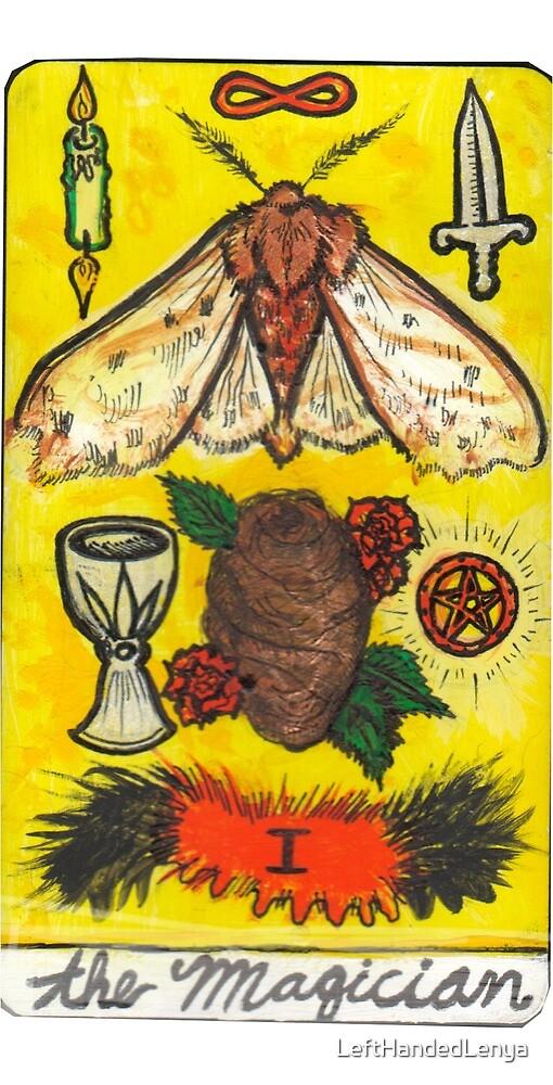 Arthropod Tarot - Card 1, The Magician by LeftHandedLenya