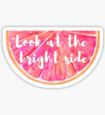 Bright Side Grapefruit  Sticker