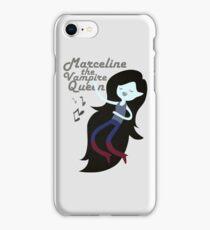 Marceline, The Vampire Queen iPhone Case/Skin