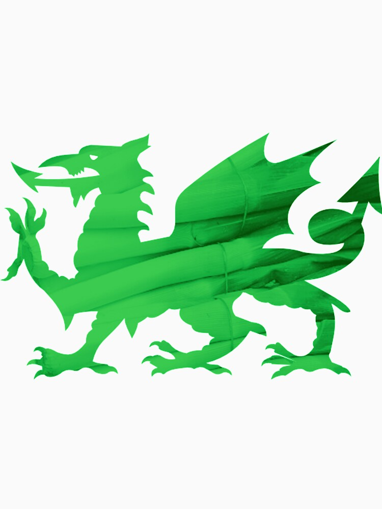 Welsh Leek Dragon by SarahArundale