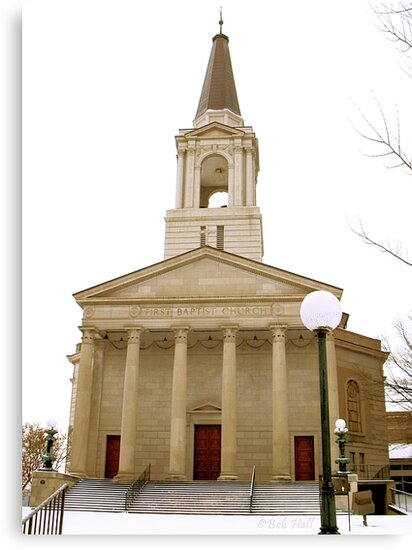First Baptist Church, Knoxville, Tennessee by Bob Hall©