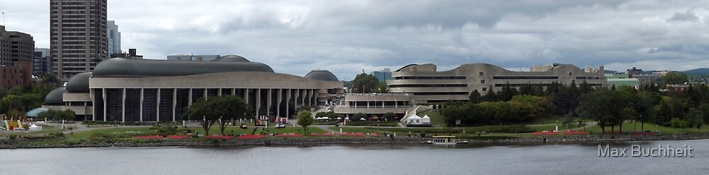 The Canadian Museum of History/Civilization , Gatineau,Canada by Max Buchheit