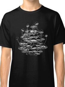 black mushrooms Classic T-Shirt