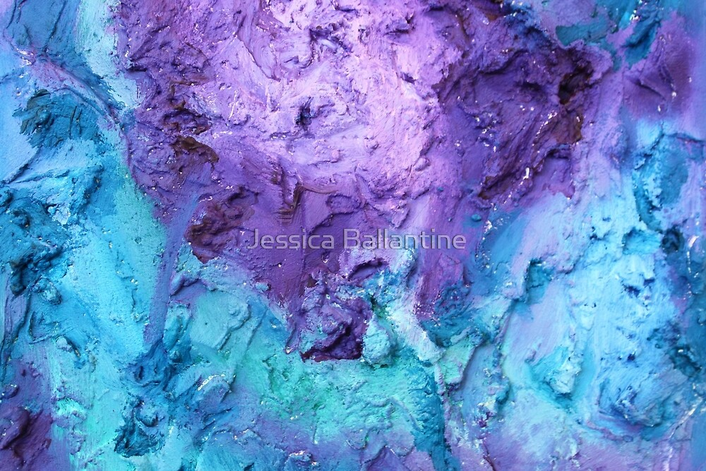 Purple Mineral by Jessica Ballantine
