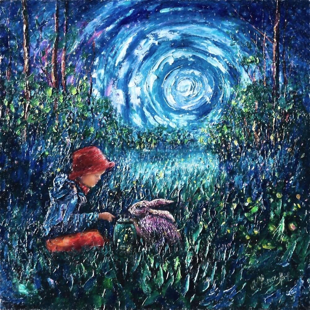 """Dylan's Rabbit"" by LENA OWENS @OLena Art"