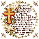 Lords Prayer English by artmuvz