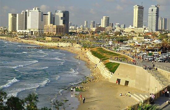 """Tel Aviv Update: """"Tel Aviv."""" Posters By Oleg Zaslavsky"""