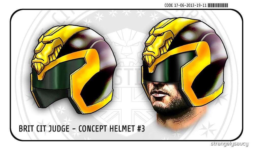 Brit-Cit Judges helmet Concept #3 by strangelysaucy