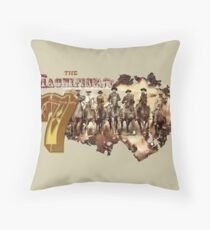 The Magnificent Gang (2) Throw Pillow