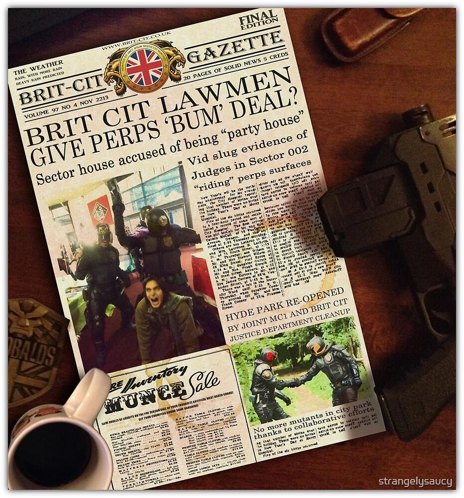 Judges gone bad? Brit-Cit Sector 002 exclusive! by strangelysaucy