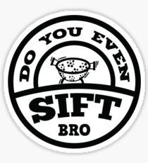 Do You Even Sift Bro? Sticker