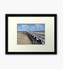 Urangan Pier - Hervey Bay Qld Framed Print