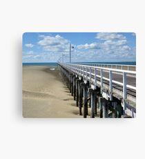 Urangan Pier - Hervey Bay Qld Canvas Print
