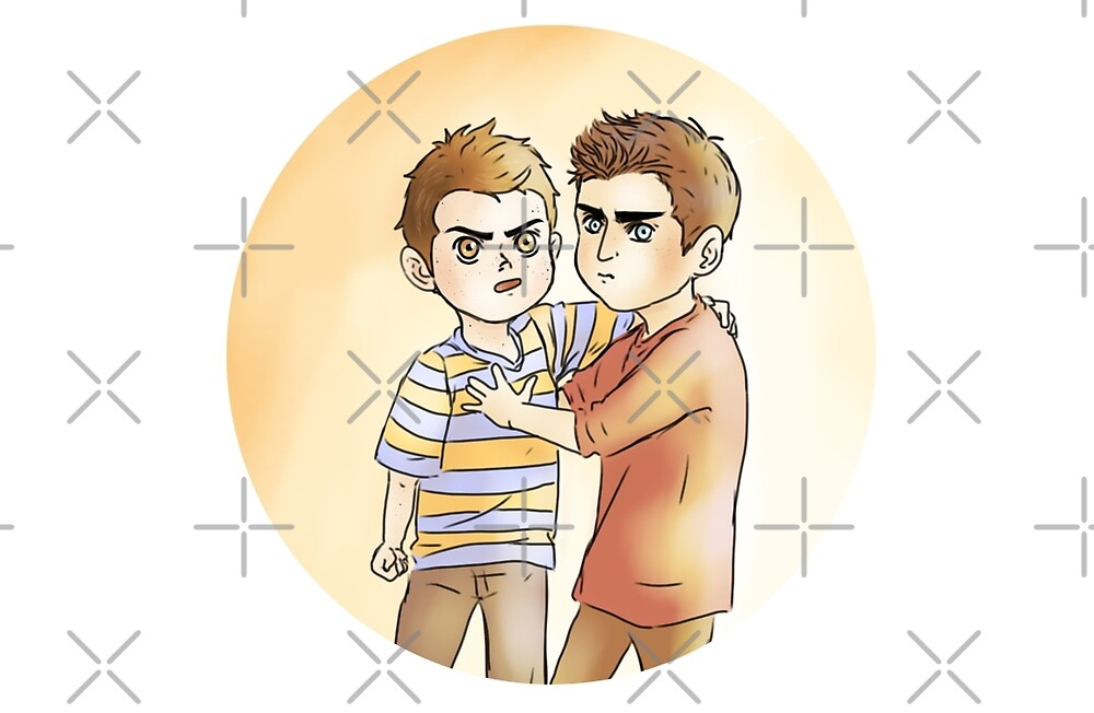 Sterek kids print by Benaya-Trash