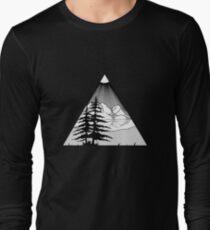 Camiseta de manga larga Naturaleza al aire libre
