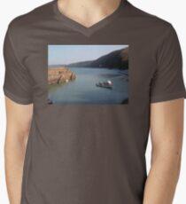 CLOVELLY HARBOUR FISHING BOAT DEVON T-Shirt