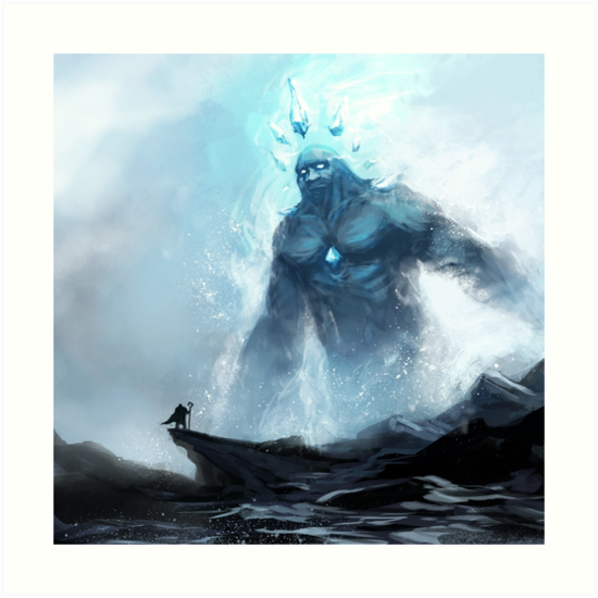Coldheart Colossus by EmoryArt