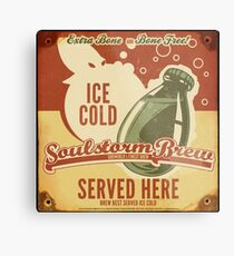 Ice Cold Soulstorm Brew Metal Print