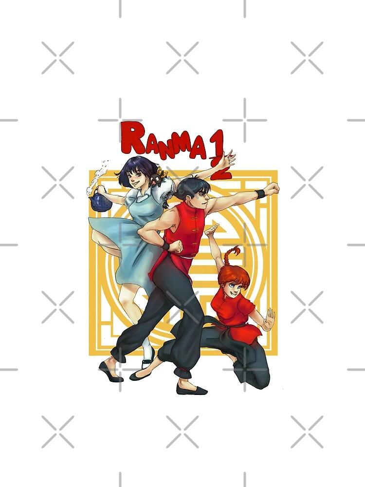 Ranma 1/2 by Lysaena