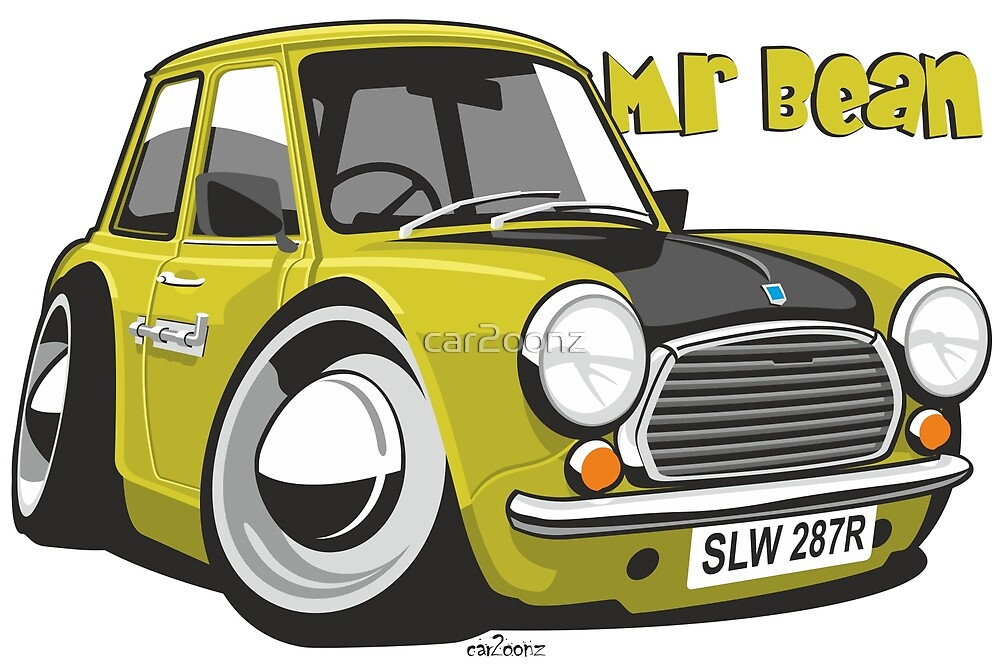 Mini caricature from Mr Bean by car2oonz