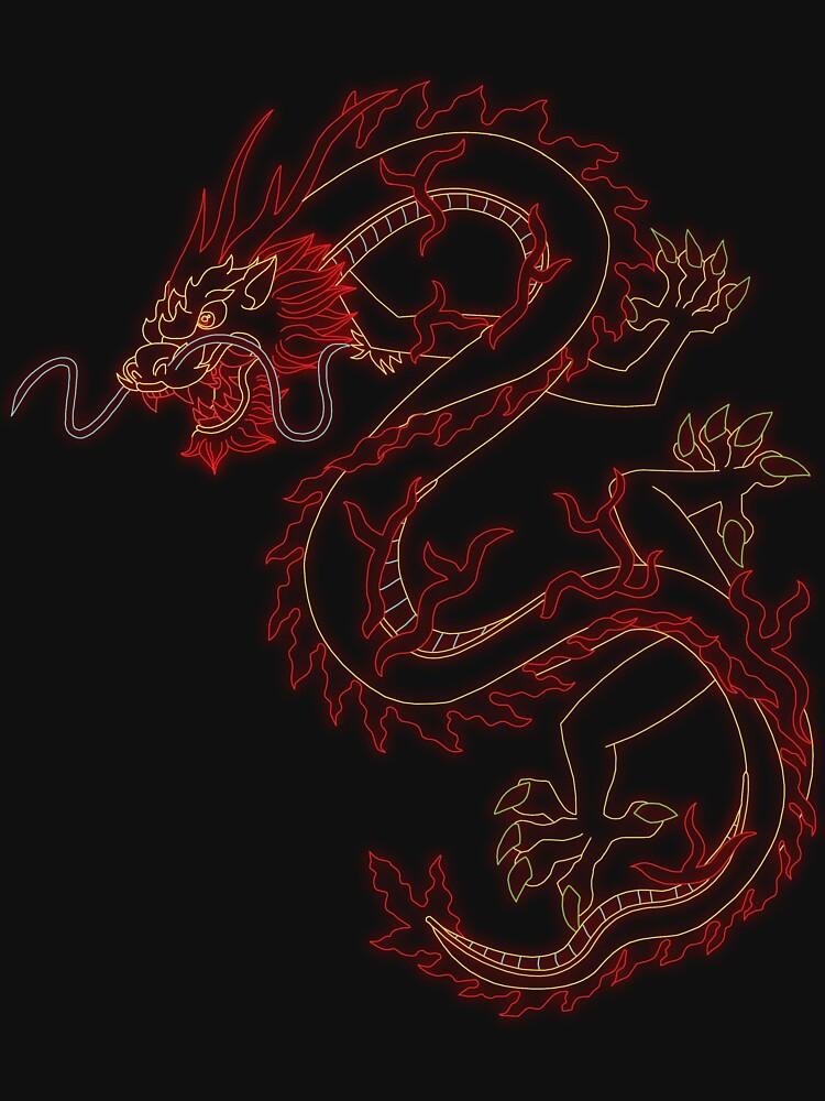 Neon Dragon by Simm0ns