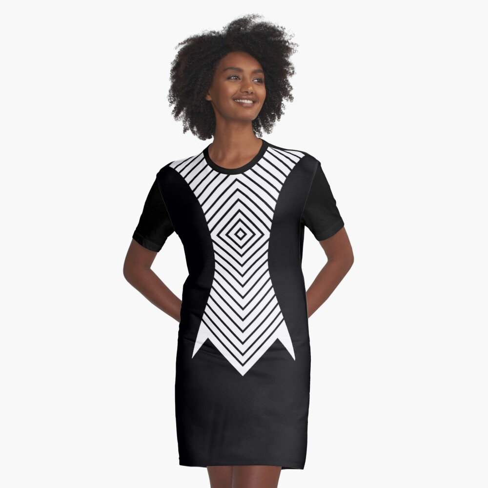 Graphic dress Graphic T-Shirt Dress Front