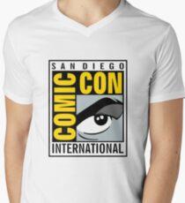 Comic Con Mens V-Neck T-Shirt