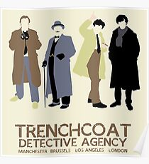 Trenchcoat Detective Agency Poster