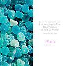 « La vie consiste à se créer soi-même - Proverbe sur la motivation » par beauxproverbes