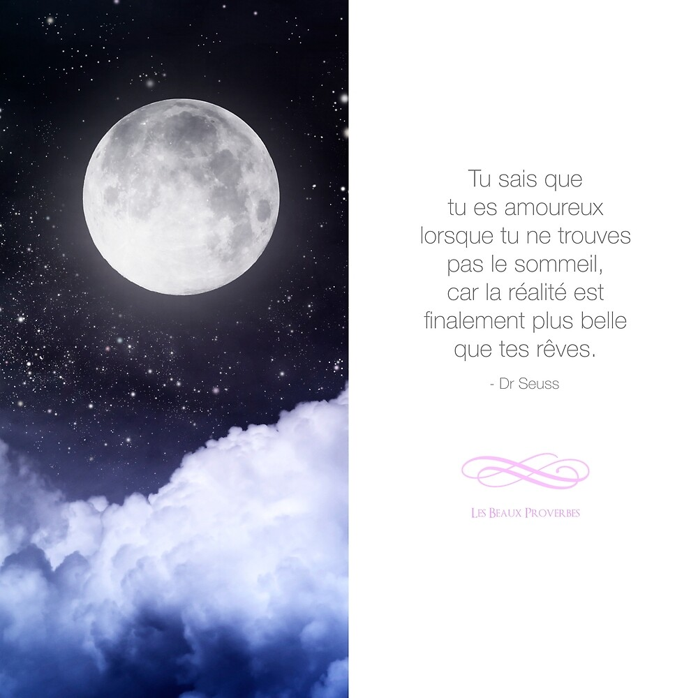 The realist more beautiful than your dreams - Quote about love by beauxproverbes
