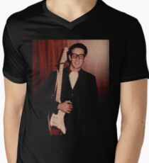Buddy Holly  Men's V-Neck T-Shirt