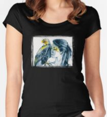 Eagle Totem Women's Fitted Scoop T-Shirt