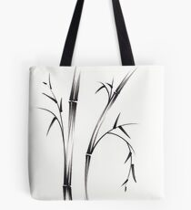 """Morning""  sumi-e brush pen bamboo drawing/painting Tote Bag"