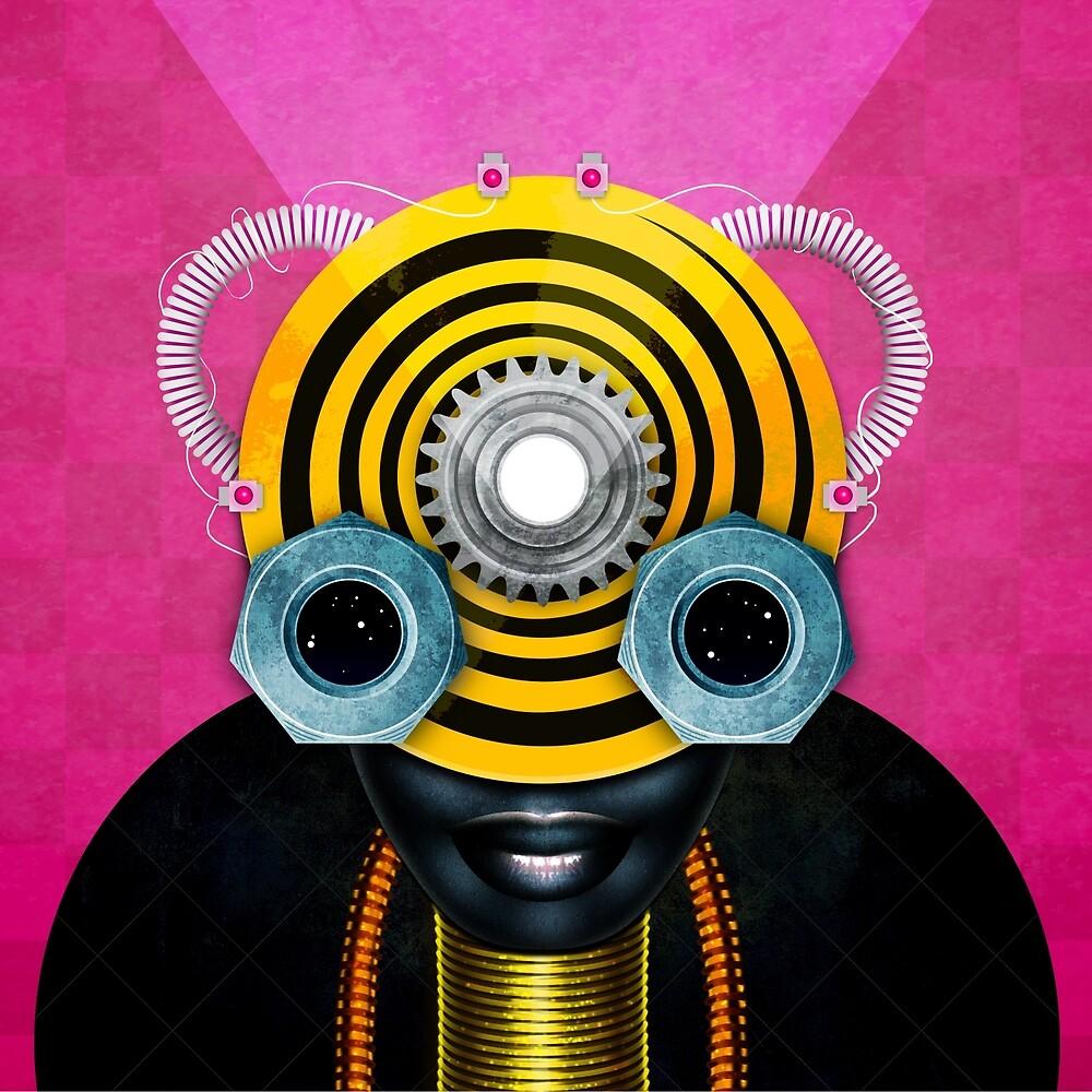 Spirit Robot #1 by Olga Lolo