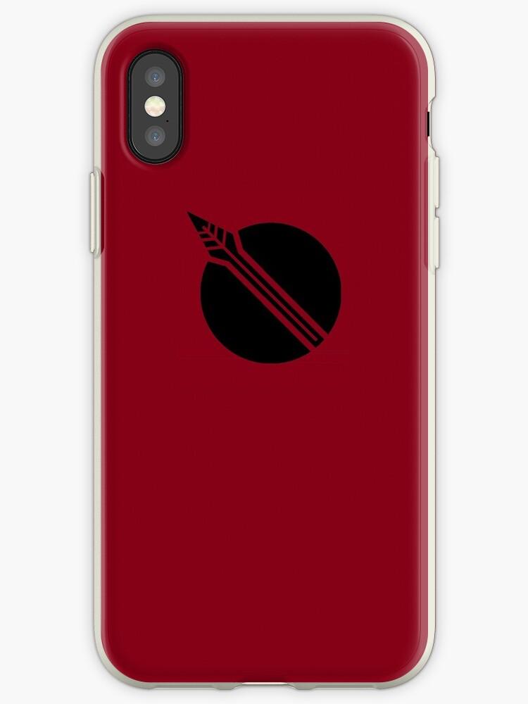 Phyrra Nikos phone symbol by John Hamilton