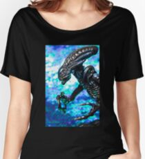 Alien from sci-fi movie Women's Relaxed Fit T-Shirt