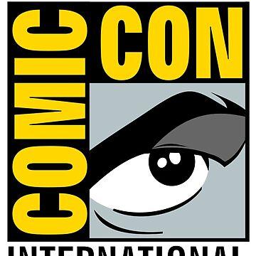 Comic Con No Border by ampmade