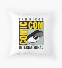 Comic Con No Border Throw Pillow