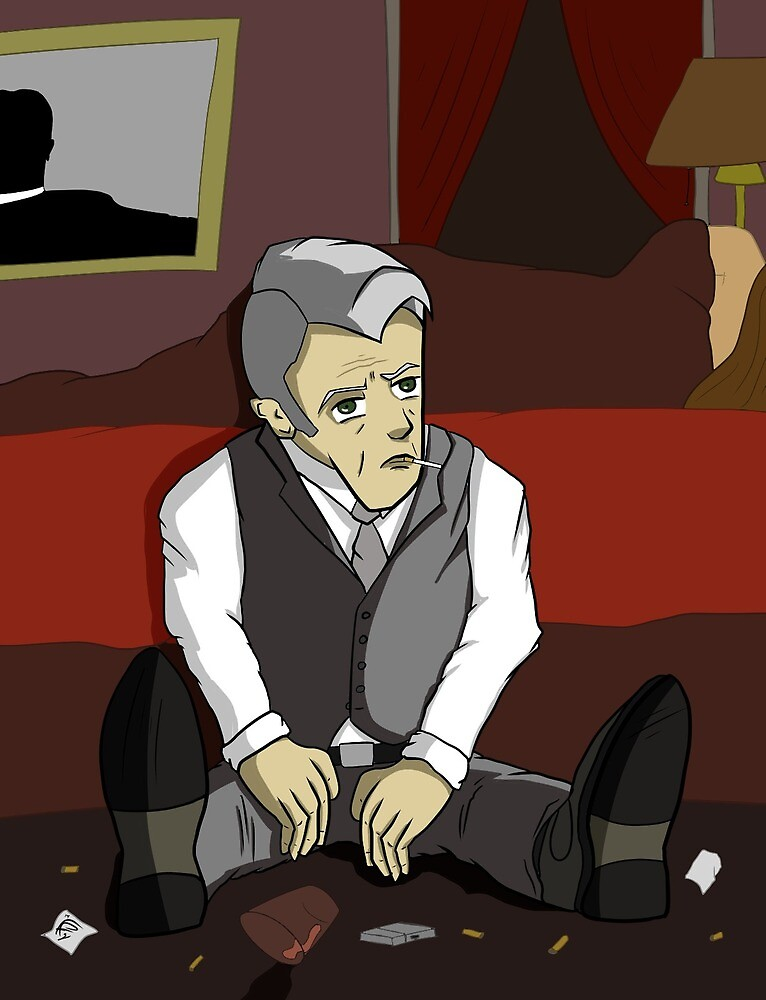 Dark Roger Sterling by FigFire