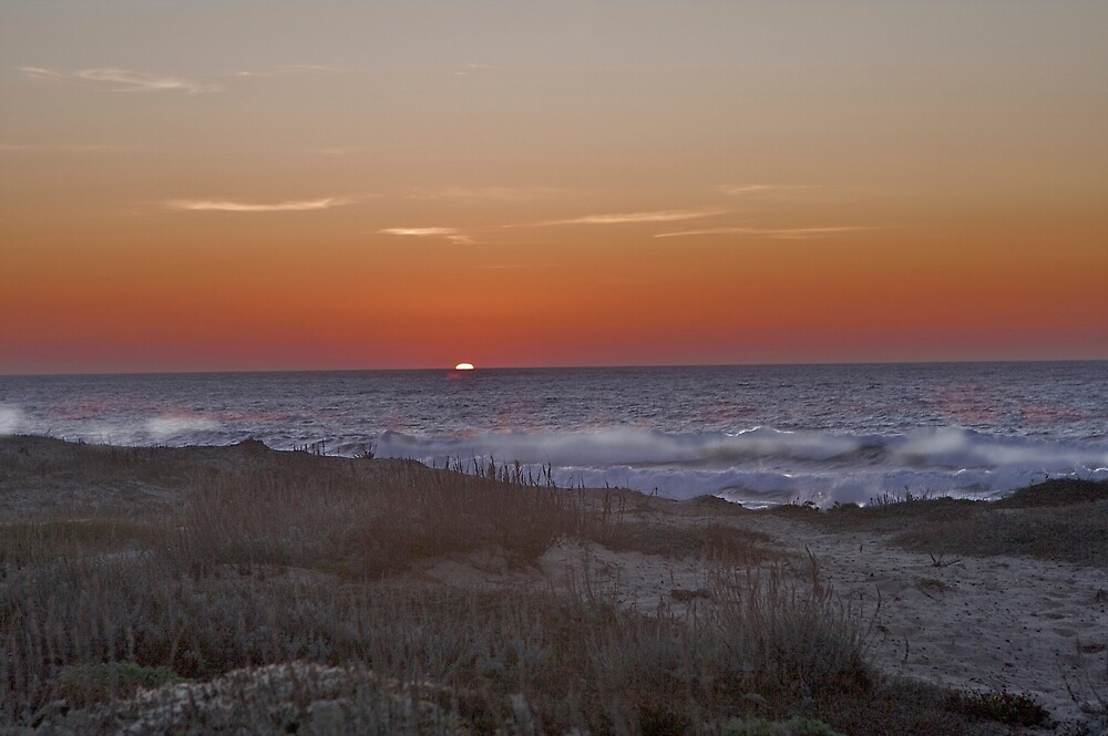 Sunset at Pacific Grove by ScHPhotography Digital Paintings and Design