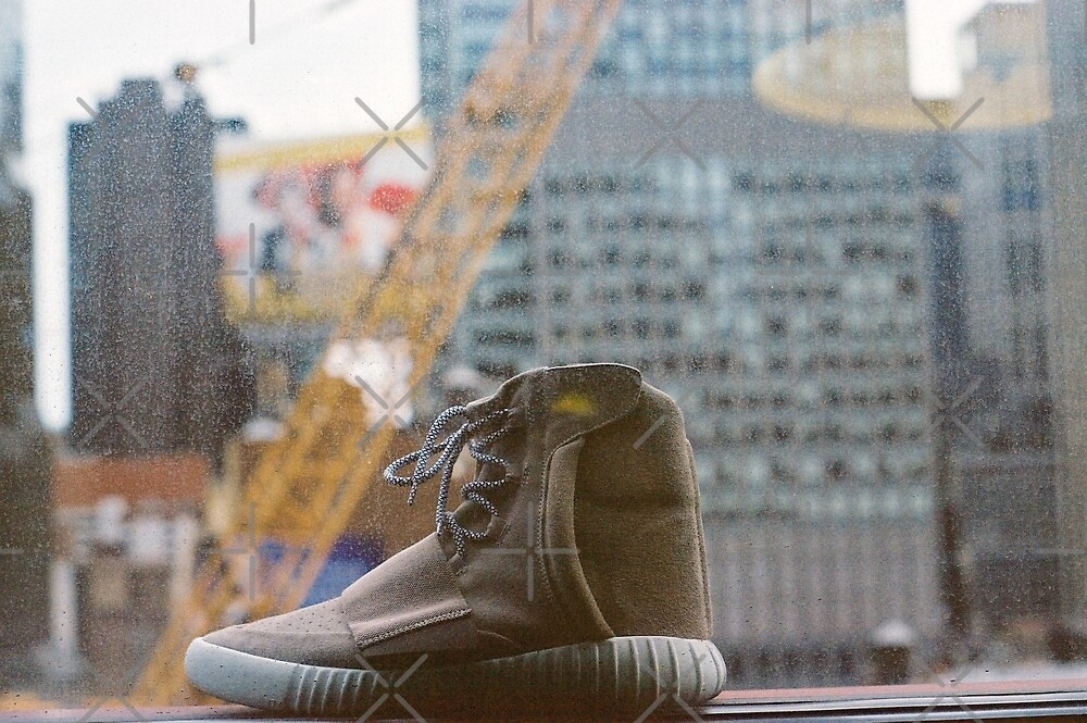 Yeezy in the Window by iShepherd