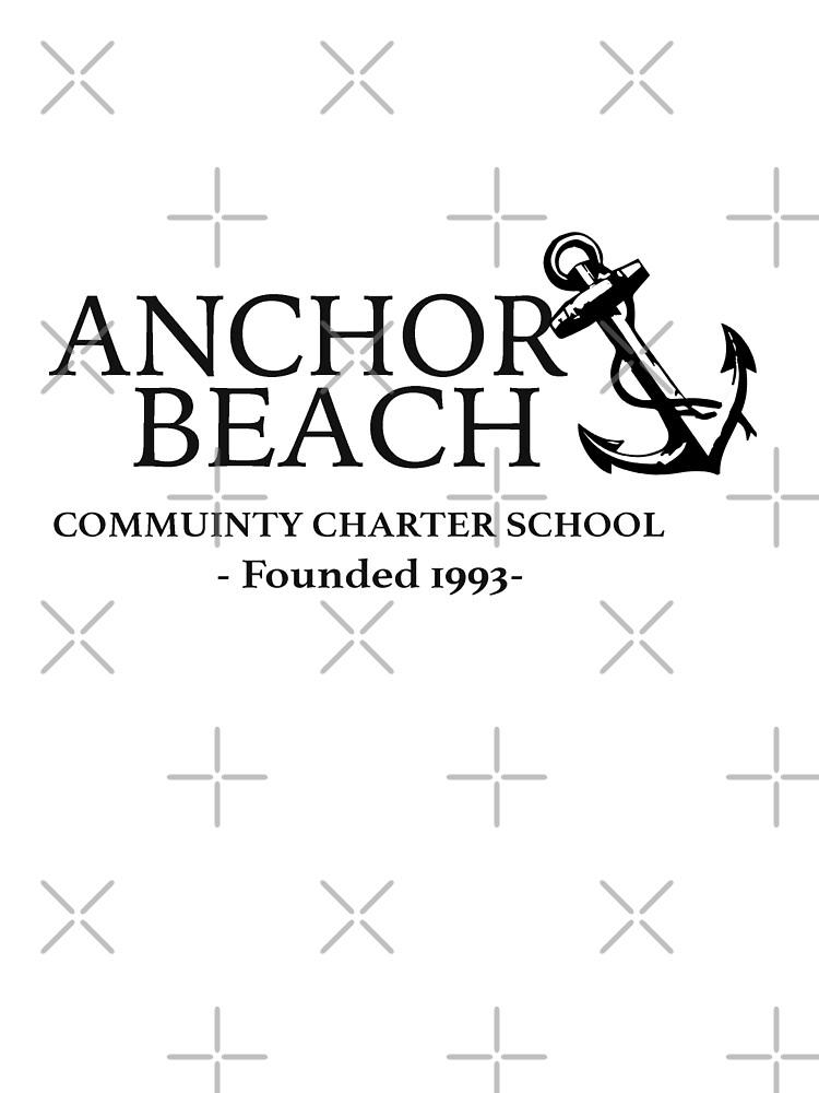 Anchor Beach  by spaceheadalycia