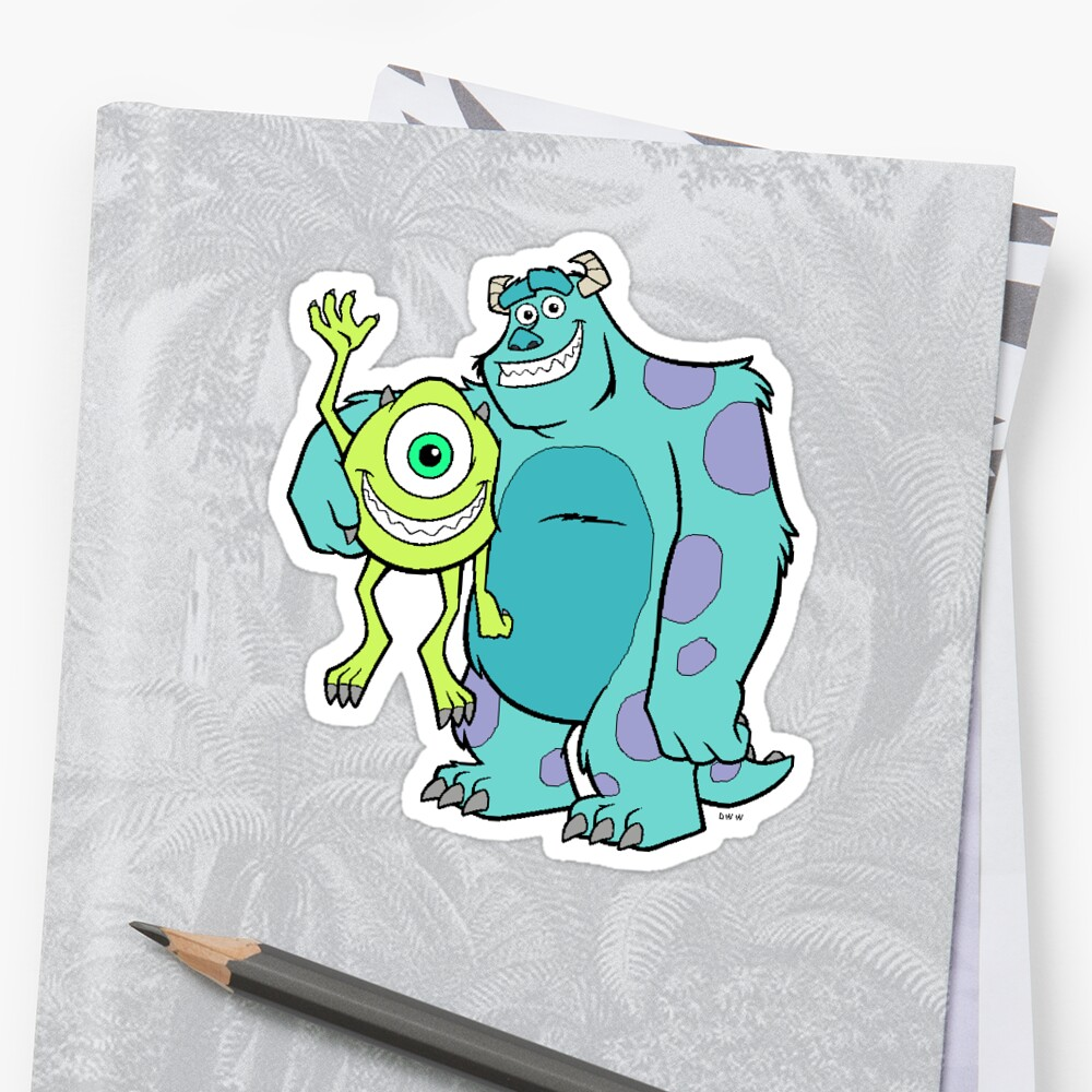 mike and sully by kristinamath