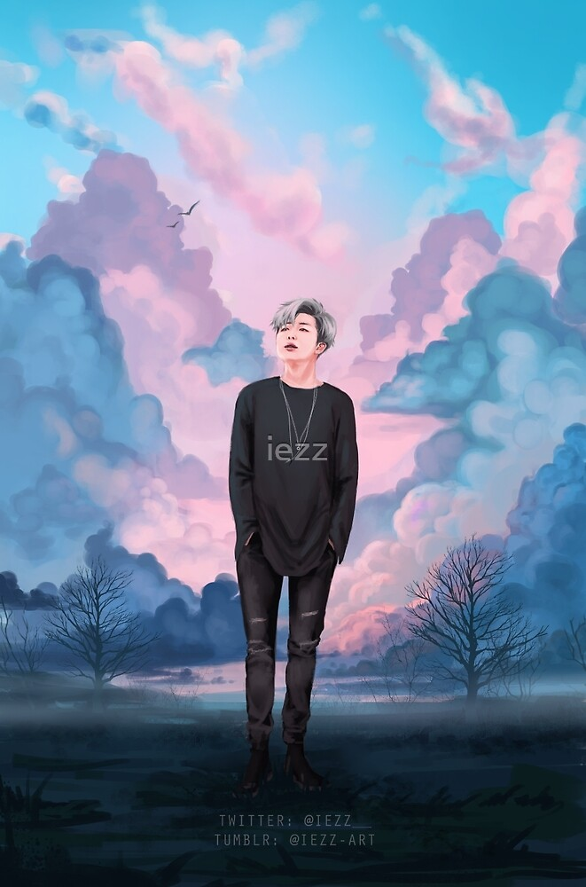 Clouds - HappyNamjoonDay by iezz