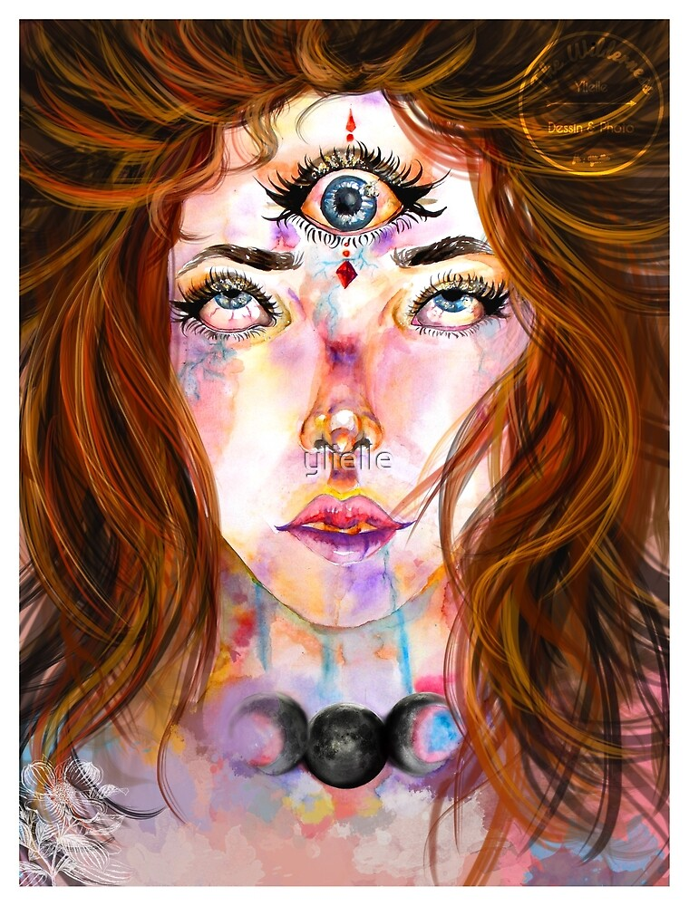 The third eye by ylielle