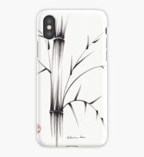 'Simplicity' paper & brush ink pen hand drawing iPhone Case