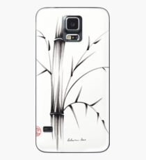 'Simplicity' paper & brush ink pen hand drawing Case/Skin for Samsung Galaxy
